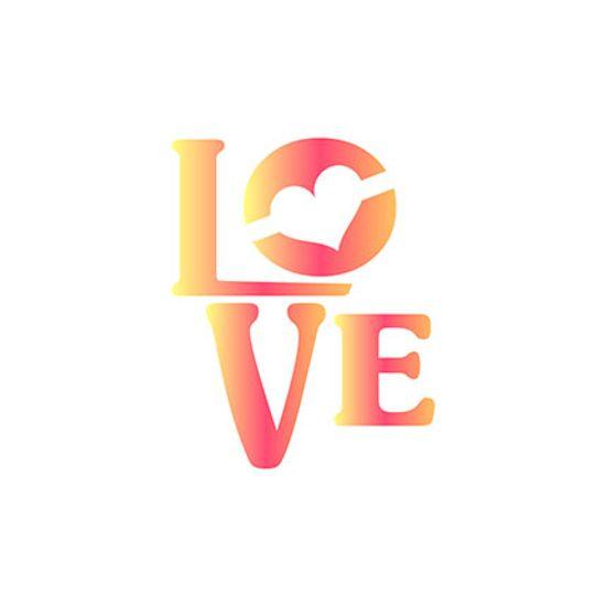 Stencil-Litoarte-10x10cm-Pintura-Simples-ST-X347-Love