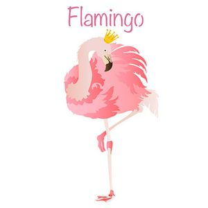 Stencil-Litoarte-344x21cm-Pintura-Sobreposicao-ST-322-Flamingo-com-Coroa
