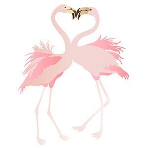 Stencil-Litoarte-344x21cm-Pintura-Sobreposicao-ST-323-Flamingos-Casal-By-Rose-Ferreira
