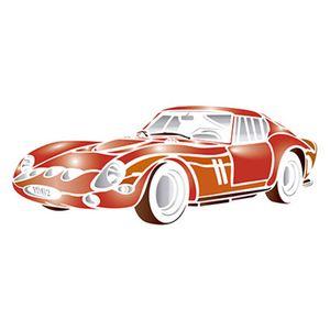 Stencil-Litoarte-344x21cm-Pintura-Simples-ST-055-Carro-Ferrari