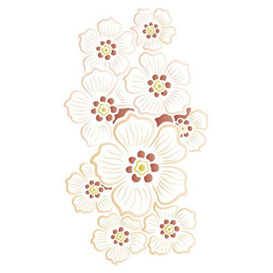 Stencil-Litoarte-344x21cm-Pintura-Simples-ST-104-Flores