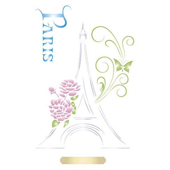 Stencil-Litoarte-344x21cm-Pintura-Simples-ST-054-Torre-Eiffel