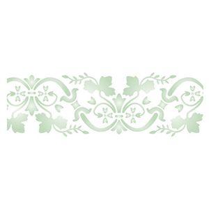 Stencil-Litoarte-42x17cm-Pintura-Simples-STG-007-Arabescos
