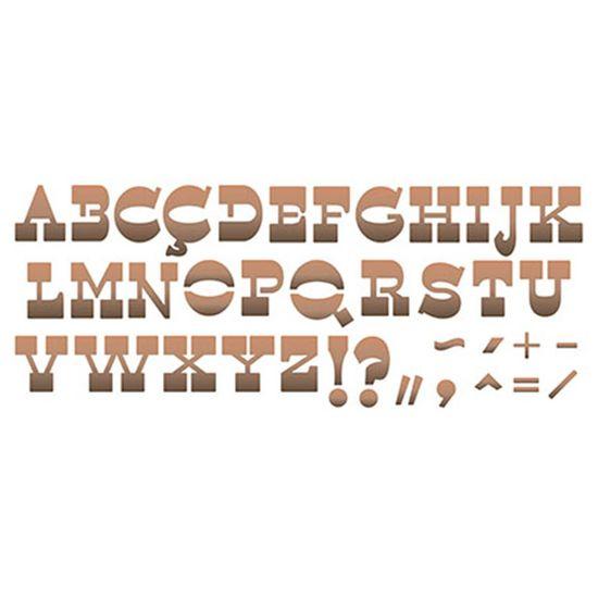 Stencil-Litoarte-42x17cm-Pintura-Simples-STG-055-Alfabeto