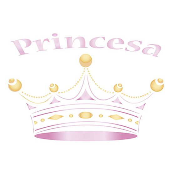 Stencil-Litoarte-211x172cm-Pintura-Simples-STM-134-Coroa-Princesa