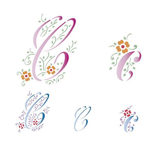 Stencil-Litoarte-211x172cm-Pintura-Simples-STM-069-Letra-C