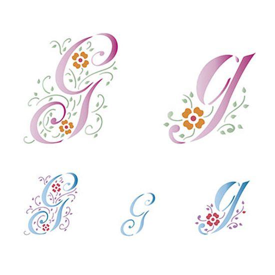 Stencil-Litoarte-211x172cm-Pintura-Simples-STM-073-Letra-G