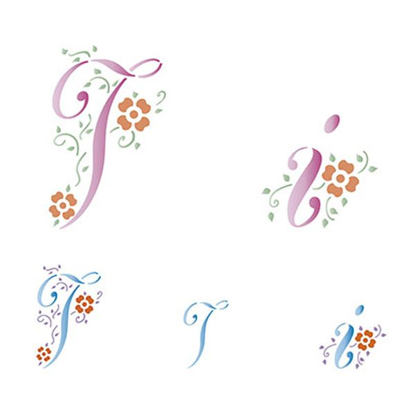 Stencil-Litoarte-211x172cm-Pintura-Simples-STM-075-Letra-I