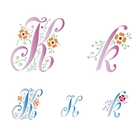 Stencil-Litoarte-211x172cm-Pintura-Simples-STM-077-Letra-K