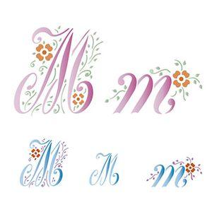 Stencil-Litoarte-211x172cm-Pintura-Simples-STM-079-Letra-M