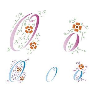 Stencil-Litoarte-211x172cm-Pintura-Simples-STM-081-Letra-O