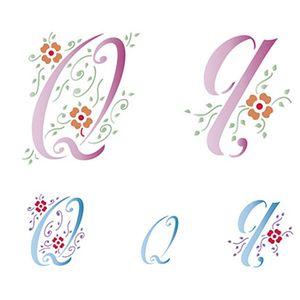 Stencil-Litoarte-211x172cm-Pintura-Simples-STM-083-Letra-Q