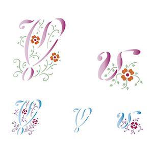 Stencil-Litoarte-211x172cm-Pintura-Simples-STM-088-Letra-V