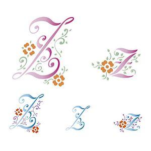 Stencil-Litoarte-211x172cm-Pintura-Simples-STM-092-Letra-Z
