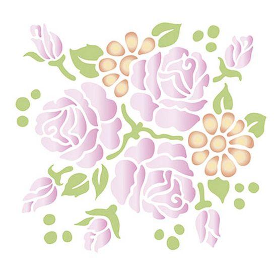 Stencil-Litoarte-211x172cm-Pintura-Simples-STM-334-Flores