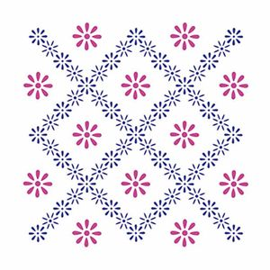 Stencil-Litoarte-211x172cm-Pintura-Simples-STM-284-Flores-Renda