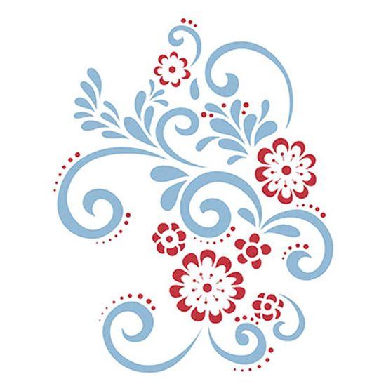 Stencil-Litoarte-211x172cm-Pintura-Simples-STM-169-Flores-e-Arabescos
