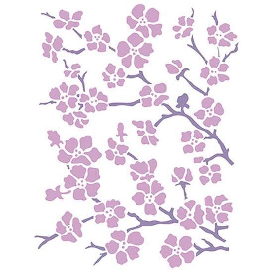 Stencil-Litoarte-211x172cm-Pintura-Simples-STM-268-Floral