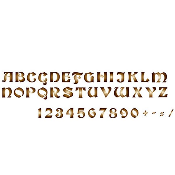 Stencil-Epoca-Litoarte-285x84cm-Pintura-Simples-STE-259-Alfabeto