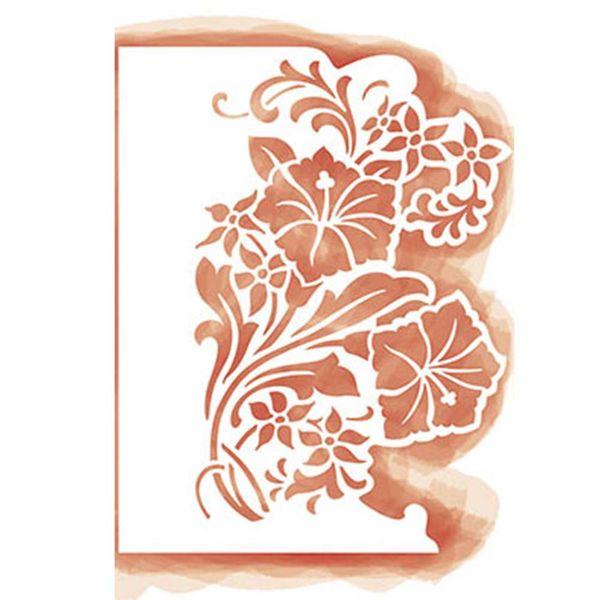 Stencil-Litoarte-266x206cm-Pintura-Simples-STA3-016-Lirios
