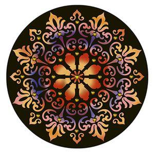 Stencil-Litoarte-30x30cm-Pintura-Simples-STQG-006-Mandala