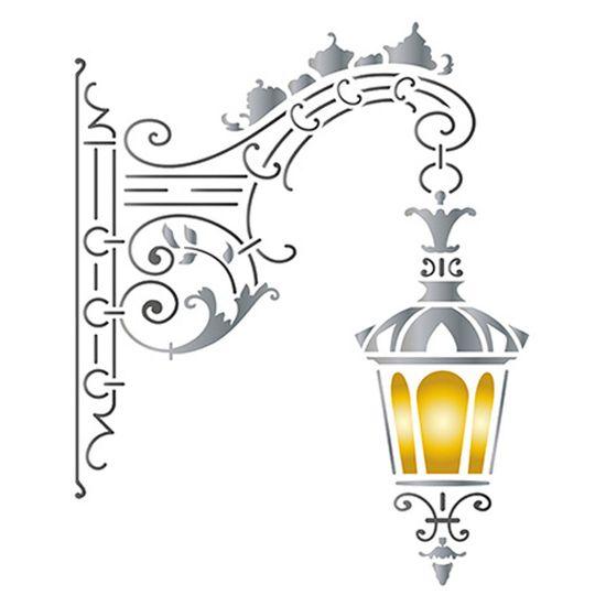 Stencil-Litoarte-21x172cm-Pintura-Simples-STM-589-Luminaria-Parede-Pendente