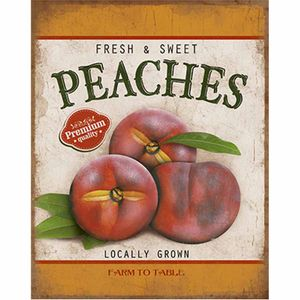 Placa-Decorativa-Litoarte-DHPML-003-24x19cm-Fresh---Sweet-Peaches