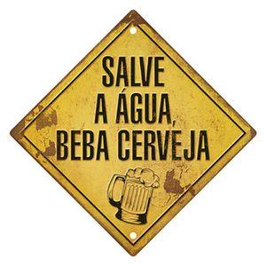 Placa-Decorativa-em-MDF-Litoarte-DHPM5-217-305x305cm-Salve-a-Agua-Beba-Cerveja