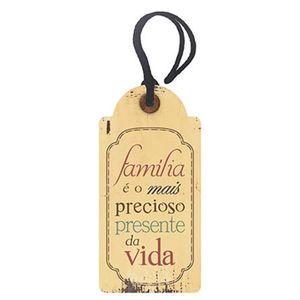 Placa-TAG-MDF-Decorativa-Litoarte-DHT2-023-143x7cm-Familia-e-o-Mais-Precioso-Presente-da-Vida