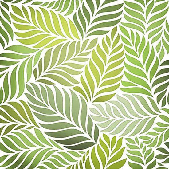 Stencil-Litoarte-20x20cm-Pintura-Simples-STXX-001-Folhas-Palmeira