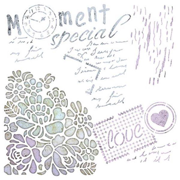 Stencil-Litoarte-20x20cm-Pintura-Simples-STXX-007-Mixed-Media-Moment