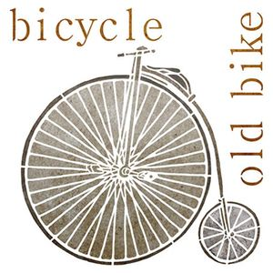 Stencil-Litoarte-20x20cm-Pintura-Simples-STXX-015-Bicycle-Old