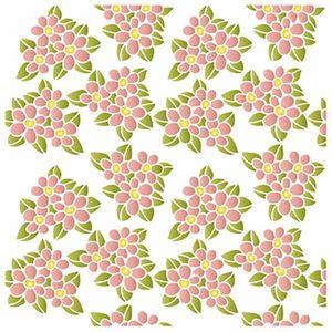 Stencil-Litoarte-20x20cm-Pintura-Simples-STXX-045-Flores-Miosotis