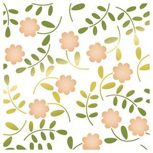 Stencil-Litoarte-20x20cm-Pintura-Simples-STXX-052-Textura-Flores-III