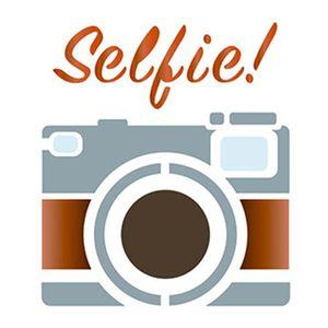 Stencil-Litoarte-10x10cm-Pintura-Simples-ST-X264-Camera-Selfie