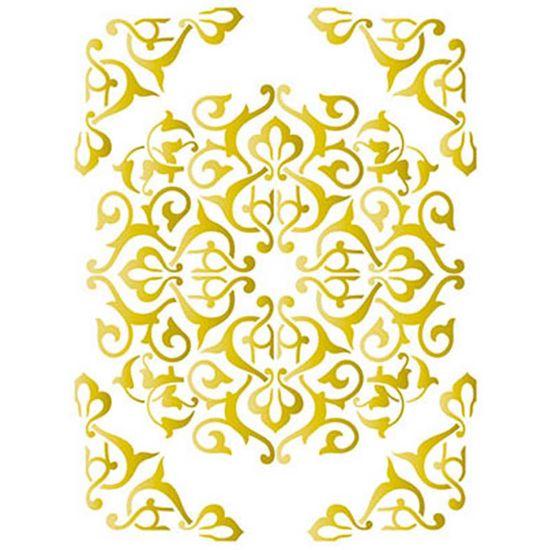 Stencil-Wall--Parede--Litoarte-422x32cm-Pintura-Simples-STW-020-Ornamento-Mandala