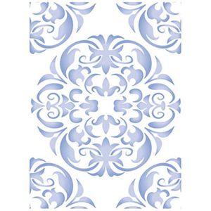 Stencil-Wall--Parede--Litoarte-422x32cm-Pintura-Simples-STW-027-Ornamento-Mandala