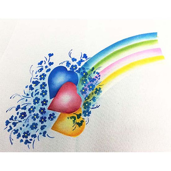 Stencil-Litoarte-344x21cm-Pintura-Sobreposicao-ST1-021-Coracoes-com-Flores