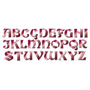 Stencil-Litoarte-42x17cm-Pintura-Simples-STG-053-Alfabeto