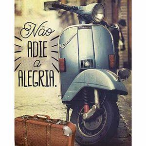 Placa-Decorativa-Litoarte-DHPM-381-24x19cm-Nao-Adie-a-Alegria