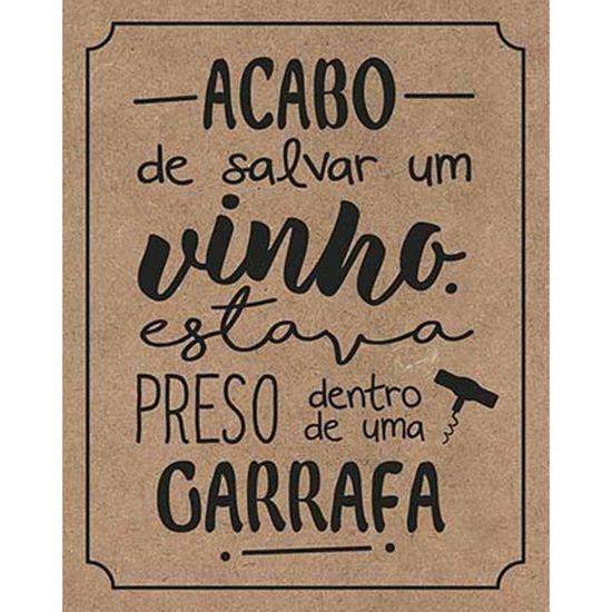 Placa-Decorativa-Litoarte-DHPM-390-24x19cm-Acabo-de-Salvar-um-Vinho