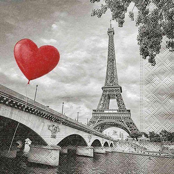 Guardanapo-Decoupage-Toke-e-Crie-GUA21819-2-unidades-Amor-em-Paris