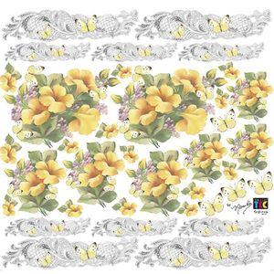 Adesivo-Decorativo-Toke-e-Crie-TDM-019-Hibiscos-Amarelos-by-Mamiko