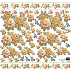 Adesivo-Decorativo-Toke-e-Crie-TDM-021-Rosas-Laranja-by-Mamiko