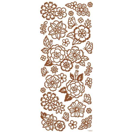 Adesivo-Foil-II-Metalizado-Toke-e-Crie-AD1898-Rosas-Rose