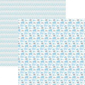 Papel-Scrapbook-Toke-e-Crie-SMB046-305x305cm-Elefantes-Azul-By-Ivana-Madi