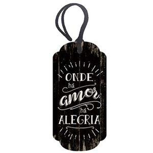 Placa-TAG-MDF-Decorativa-Litoarte-DHT2-020-143x7cm-Onde-ha-Amor-ha-Alegria