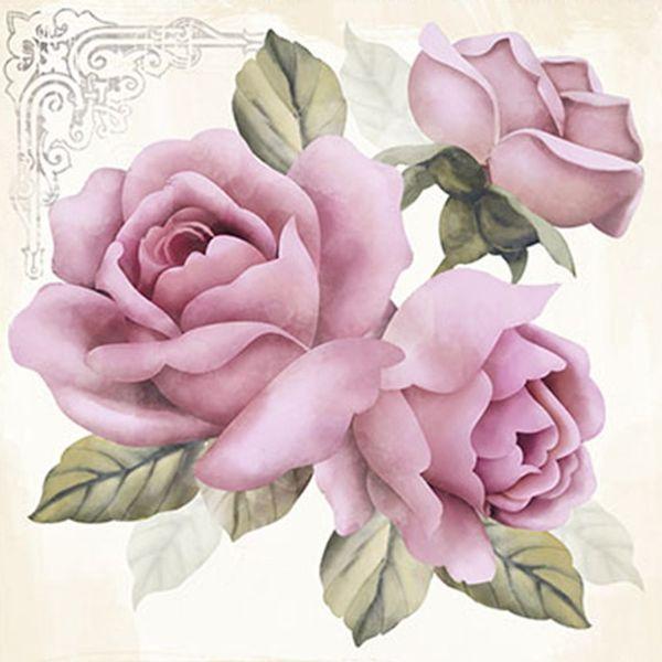 Papel-Decoupage-Adesiva-Litoarte-DAX-043-10x10cm-Rosas