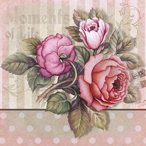 Papel-Decoupage-Adesiva-Litoarte-DAX-046-10x10cm-Rosas-Vintage