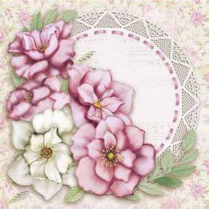 Papel-Decoupage-Adesiva-Litoarte-DAX-110-10x10cm-Magnolias-e-Renda